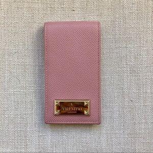 Valentino Leather iPhone Case